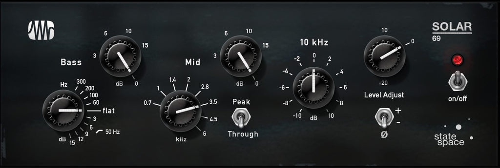 PreSonus Solar 69 EQ Fat Channel Plug-in