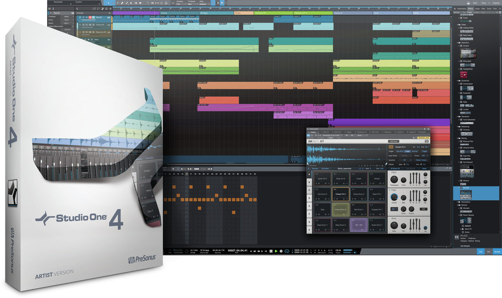 PreSonus Studio One 4 Artist Academic (download) -