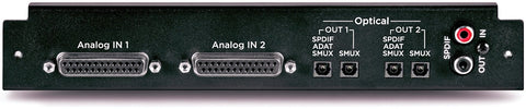 Apogee 16 Analog IN + 16 Optical OUT - Symphony I/O Module