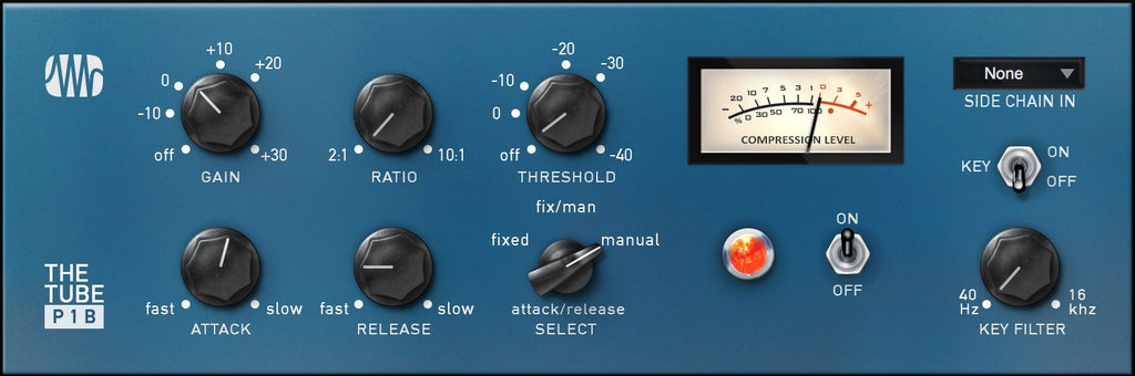 The Tube P1B Compressor - Fat Channel Plug-in