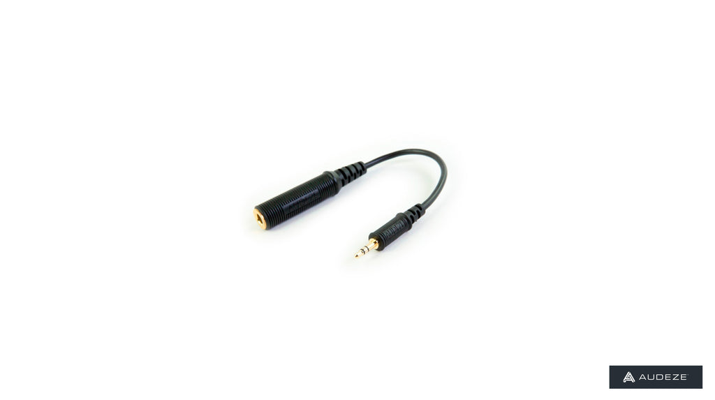 "Audeze ADP-MINI 1/4"" stereo to 3.5mm stereo adpater"