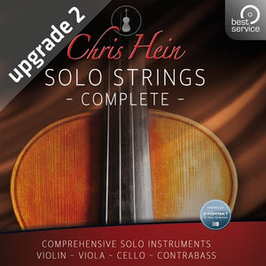 Best service Chris Hein Solo Strings Complete Upgrade 2