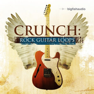 Big Fish Audio Crunch: Rock Guitar Loops