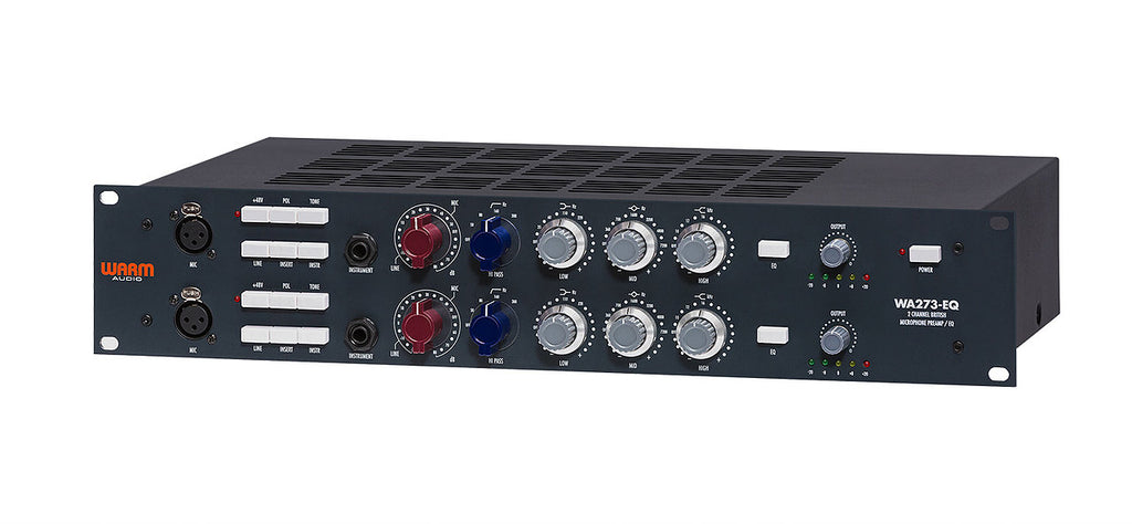 Warm Audio WA273-EQ Two Channel British Microphone Preamp & EQ