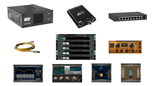 Waves DiGiGrid MGB + Impact Server System