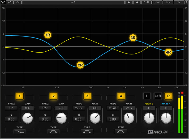 Waves eMotion LV1 + Server One-C + 16-Preamp Stagebox + Axis One
