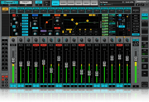 Waves eMotion LV1 Live Mixer  16 Stereo Channels