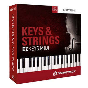 Toontrack EZkeys Midi Keys & Strings