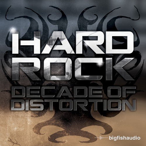 Big Fish Audio Hard Rock: Decade of Distortion