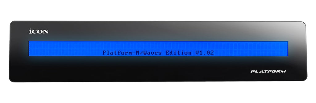 Waves Icon Platform D2 Display for eMotion LV1
