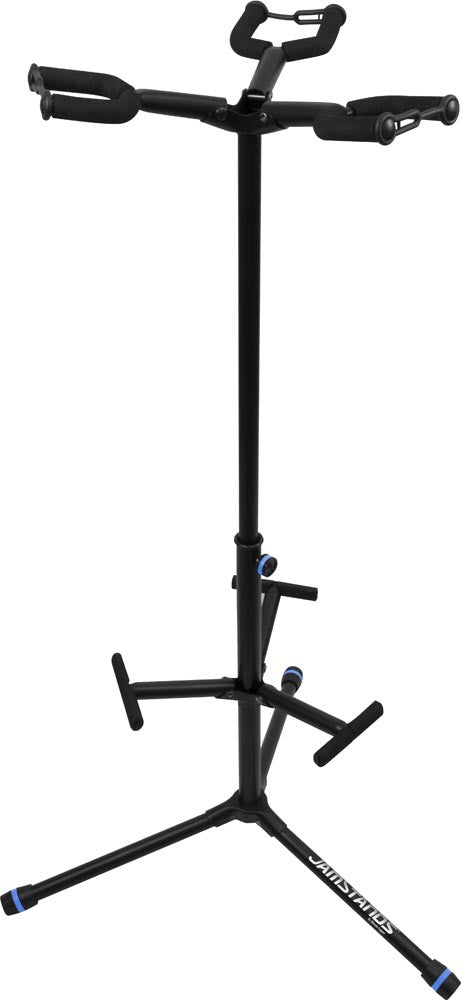 JamStands Triple Hanging-Style Guitar Stand - with colored accent bands