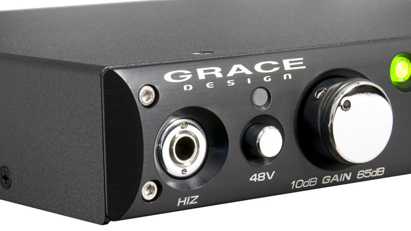 Grace Design m101 high fidelity single channel microphone preamplfier