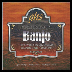 GHS Strings 5-STR BANJ,CUSTOM LT