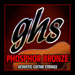 GHS Strings AC GTR,PHOS BRNZ,TRUE MED