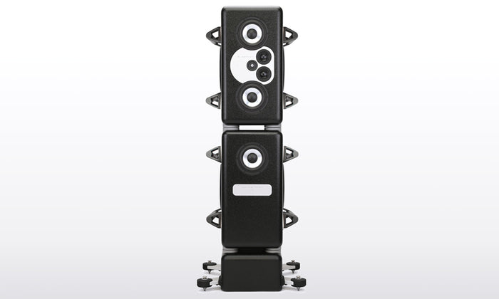 Barefoot Sound MasterStack12 w/Pedestals and Handles 4.5-way active modular tower monitor with MEME™ Technology
