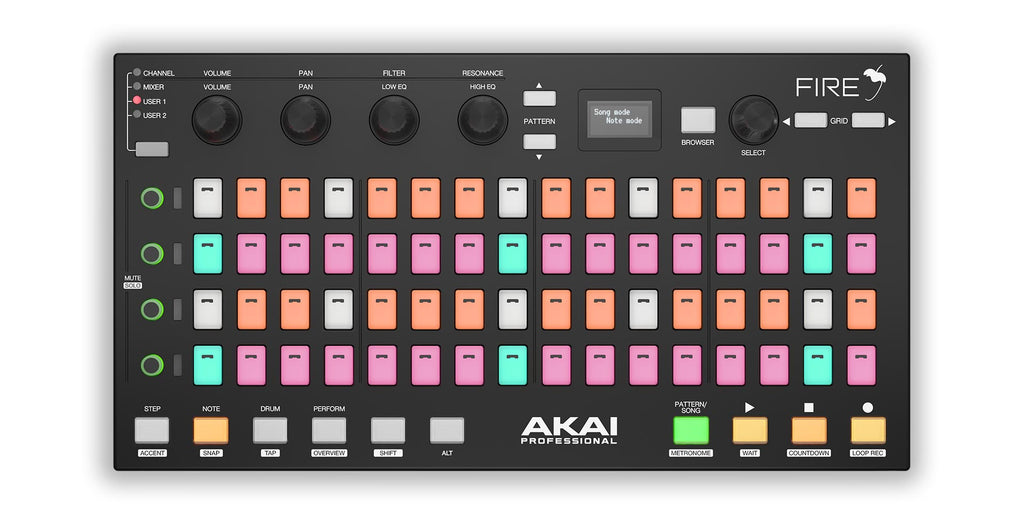 Akai Professional Fire Grid Controller for FL Studio [ USED ]