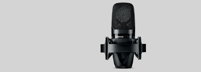 Shure PGA27 CARDIOID LARGE DIAPHRAGM SIDE-ADDRESS CONDENSER MICROPHONE