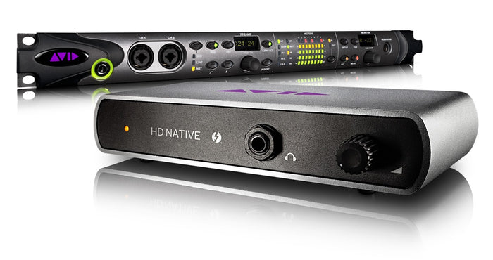 Avid Pro Tools|HD Native Thunderbolt + HD OMNI