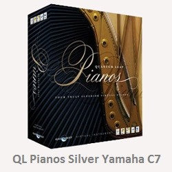 East West QL Pianos Silver Yamaha C7