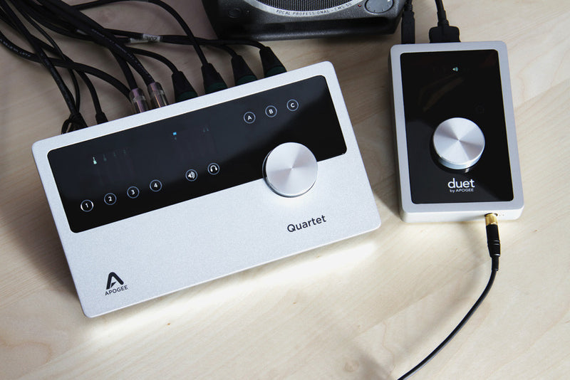 Apogee Quartet for iPad and Mac