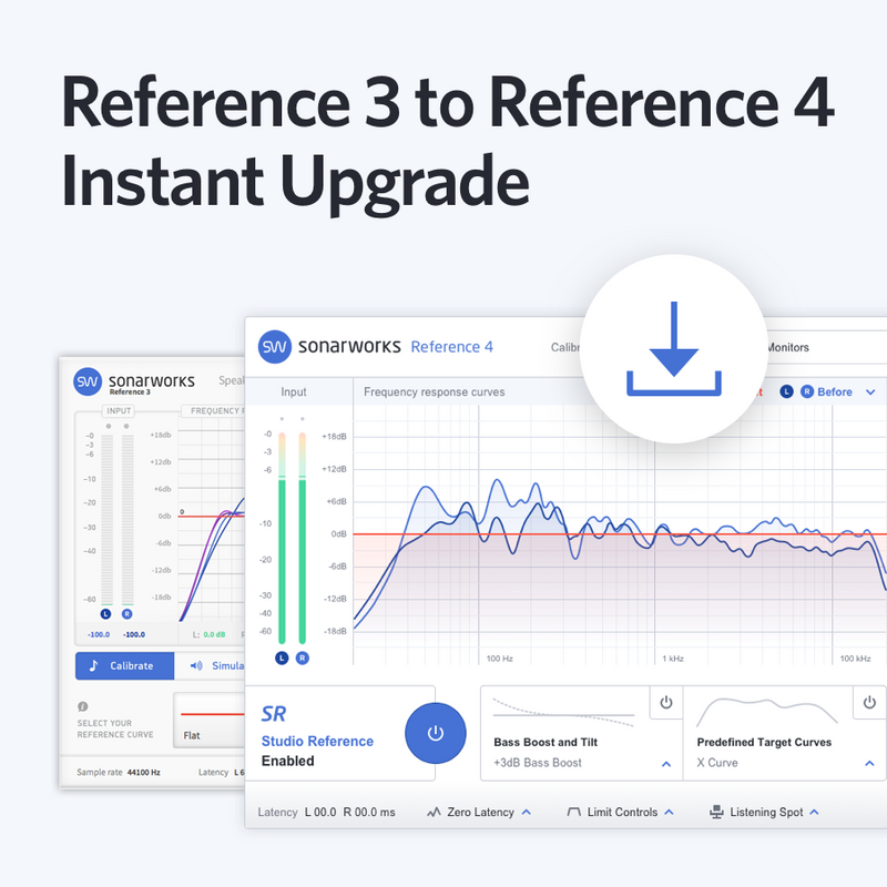 Sonarworks Upgrade Reference 3 to Reference 4 download only