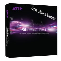 Avid Sibelius First 1 Year License