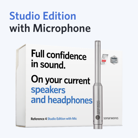 Sonarworks Reference 4 Studio edition with mic box
