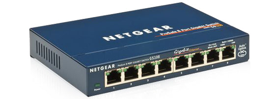 Waves NETGEAR GS108 V4 8-Port Switch