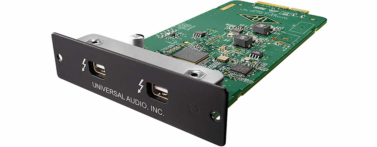 Universal Audio Apollo Thunderbolt Option Card