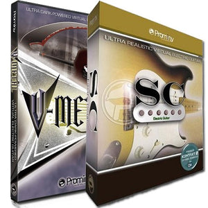 Prominy V-Metal and SC Electric Guitar Bundle