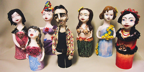 MAKE YOUR OWN FIGURINE SCULPTURE WORKSHOP 8 & 15 OCTOBER