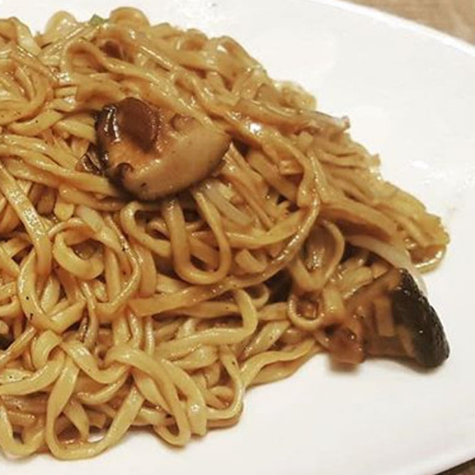 Fried Ee Fu Noodles with Mushroom 干炒伊面
