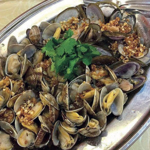 Mussels mixed Lala Clams 大头参啦啦