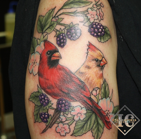 Colorful And Vibrant Tattoos
