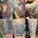 Grayscale Half sleeve Tattoos Tatuajes Media Mango