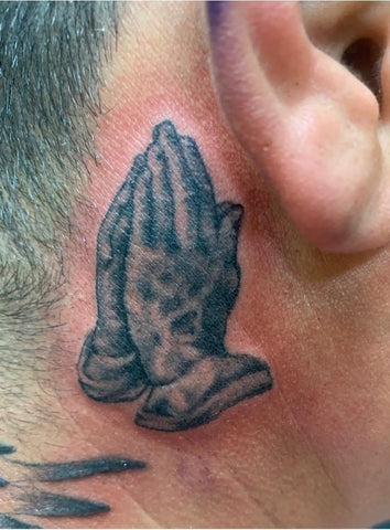 Praying Hands Tattoo Tatuaje de Manos Rezando