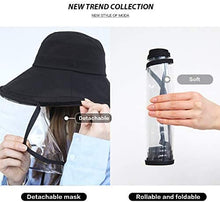 Load image into Gallery viewer, Summer Bucket Hat for Women Face Shield