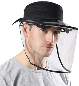 Men's Hats with Face Shield