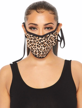 Load image into Gallery viewer, Cheetah Face Mask