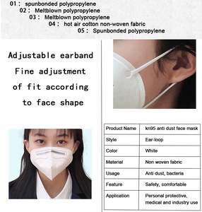 KN95 Mask - 99% Safety Masks