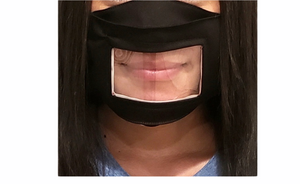Adult Face Mask. 4 Reading Lips