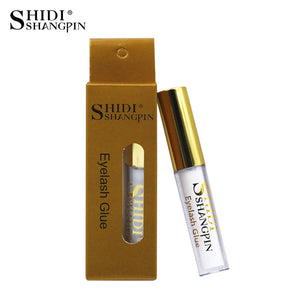 SHIDISHANGPIN 1 pcs Eyelash Glue 5ML Lash Glue Clear Black Lashes - The Asian Centre