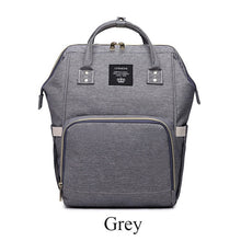 Load image into Gallery viewer, Lequeen Fashion Mummy Maternity Nappy Bag Large Capacity Nappy Bag Travel Backpack - The Asian Centre