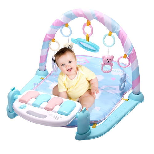Baby play mat Kids Fitness Rack Piano Keyboard - The Asian Centre