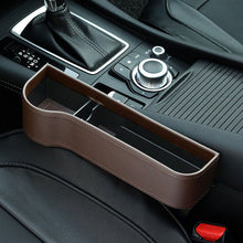 Load image into Gallery viewer, Storage Box Car Organizer Seat Gap PU Case Pocket Car Seat - The Asian Centre