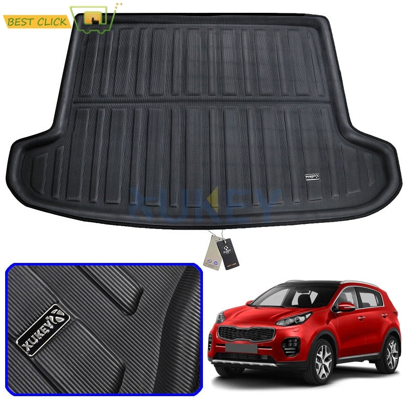 Kia Sportage QL 2016 2017 2018 2019 Car Rear Trunk Cargo Mat Floor - The Asian Centre