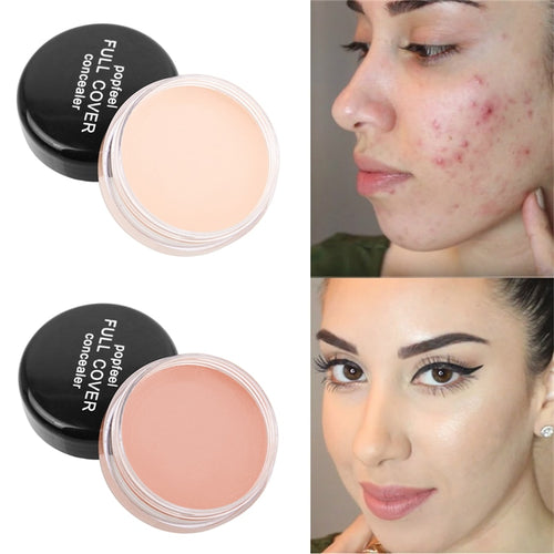 Face Makeup Concealer Cream Full Cover Blemish Hide Dark Spot Eye Lip Liquid Foundation - The Asian Centre