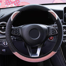 Load image into Gallery viewer, Cute Cartoon Cat Ear Steering Wheel Cover - The Asian Centre