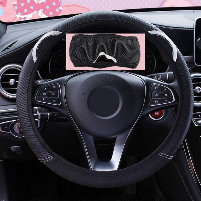Cute Cartoon Cat Ear Steering Wheel Cover - The Asian Centre