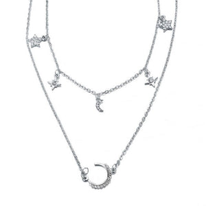 Transparent Fishing Line Necklace For Women - The Asian Centre